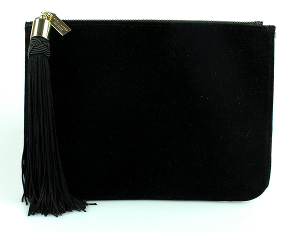 Marc Jacobs Black Velvet Decadence Clutch VIP Gift 2
