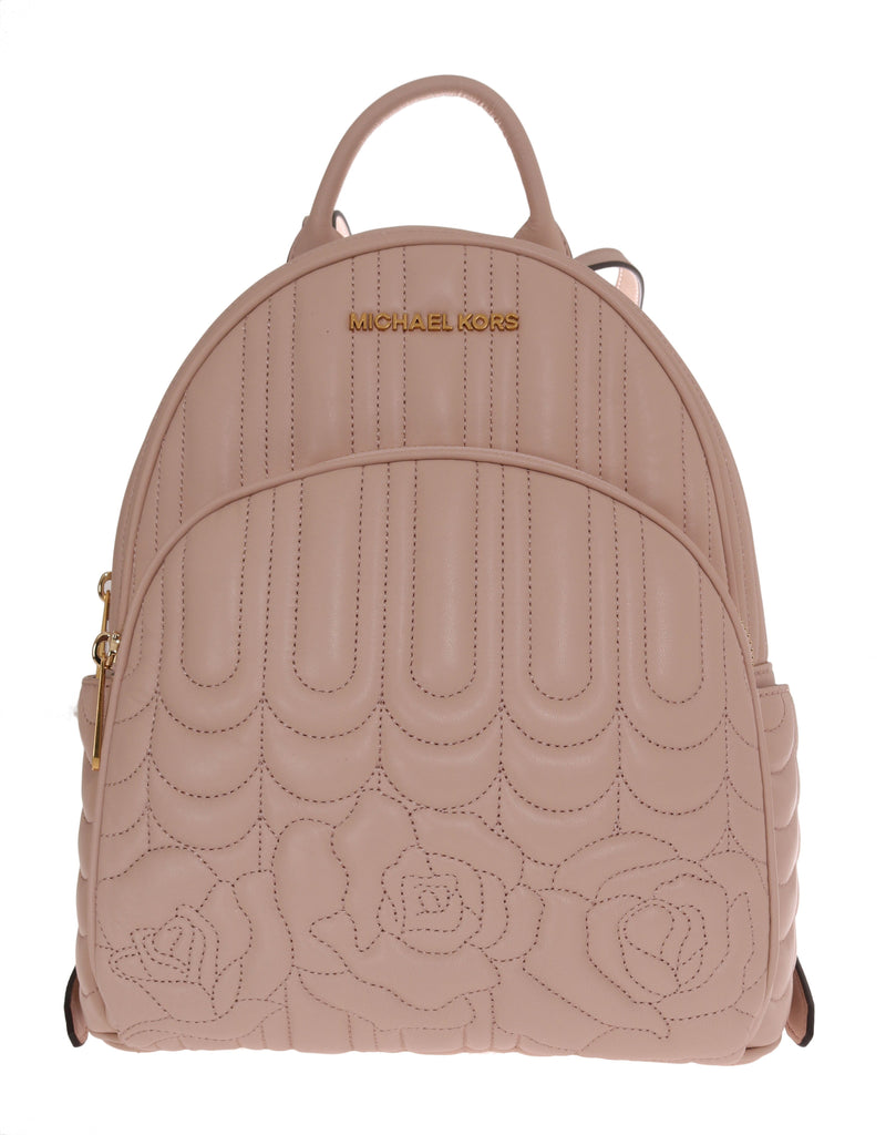 Michael Kors Beige Abbey Leather Backpack