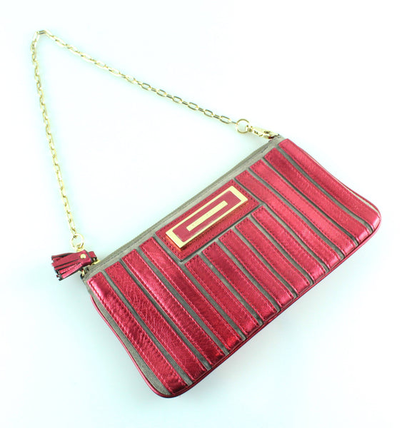 Anya Hindmarch Belvedere Clutch With Removable Chain GH