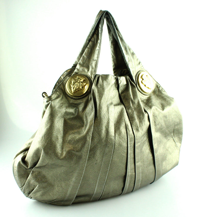 Gucci Gold Shimmer Hysteria Hobo (Missing Strap)