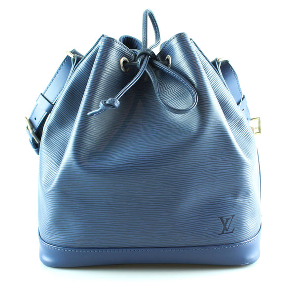 Louis Vuitton Myrtille Blue Epi Leather Petite Noe NM AR0064