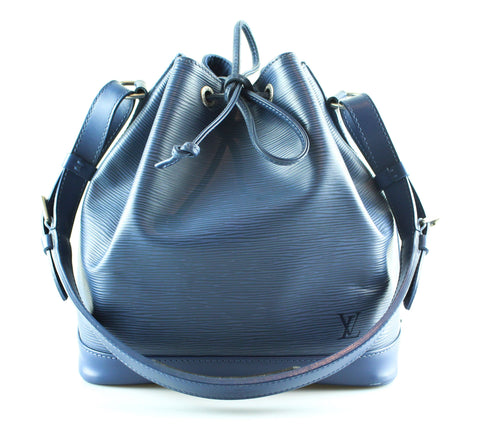 Louis Vuitton Myrtille Blue Epi Leather Petite Noe NM AR0064 b36a83a220428