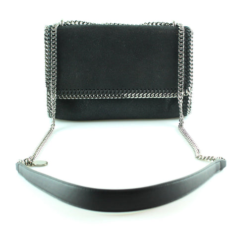 Stella McCartney Black Falabella Shoulder Bag RRP €685