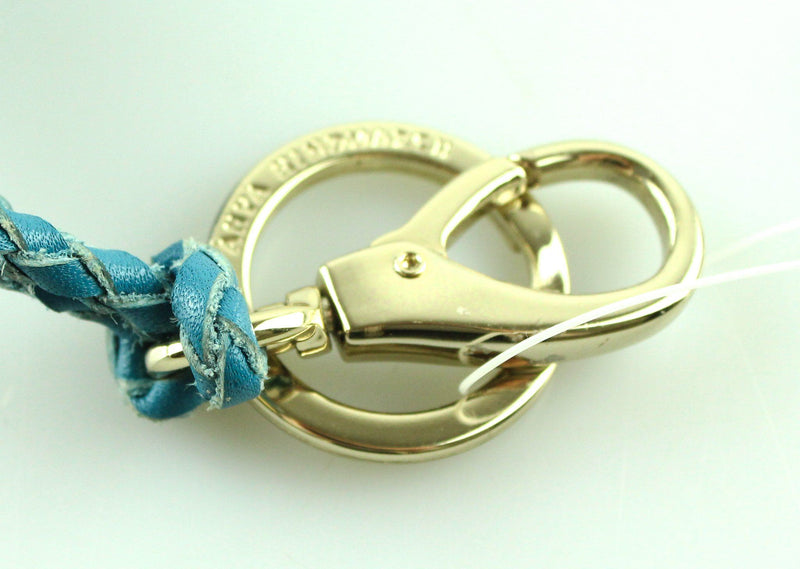 Anya Hindmarch Blue Leather Tassell Charm