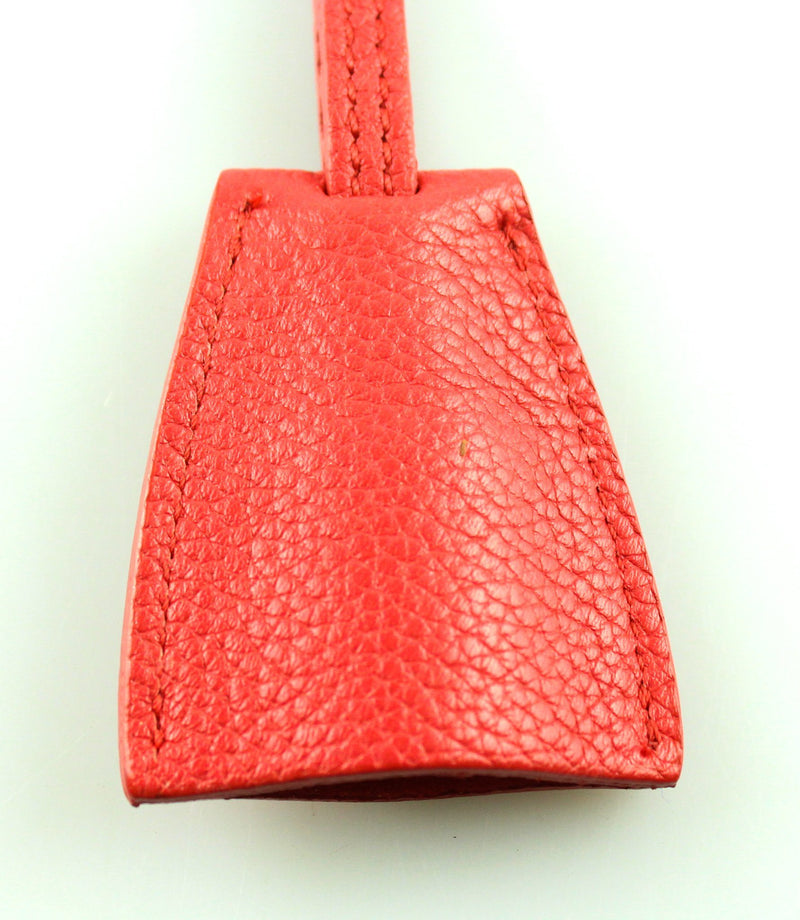 Mulberry Gold Padlock And Red Leather Clochette