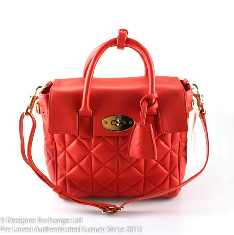 Mulberry Red Nappa Leather Cara Delevingne Backpack