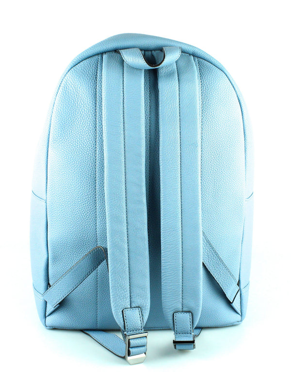 Michael Kors Powder Blue Grained Leather Bryant Backpack GMH RRP €179
