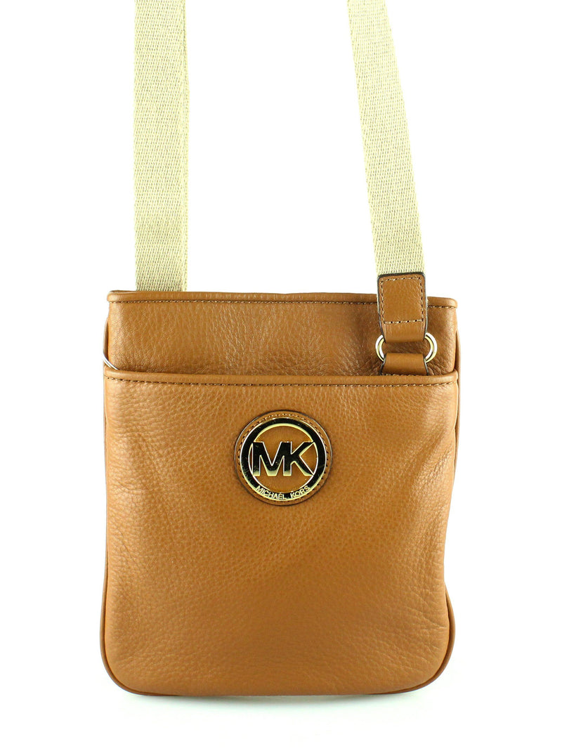 Michael Kors Tan Leather Cross Body GH