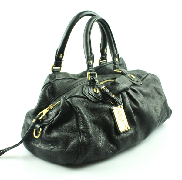 Marc By Marc Jacobs Black Classic Q Groovee Satchel