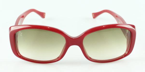 Louis Vuitton Soupcon C1026 Sunglasses Red