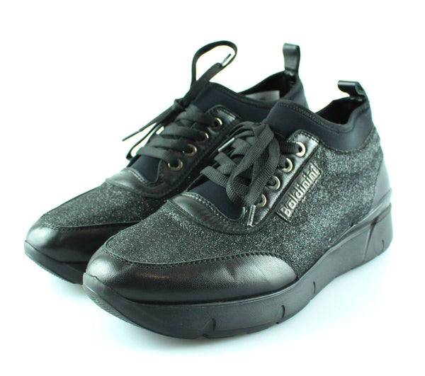 Baldinini Glitter Sneakers EUR 37 UK 4