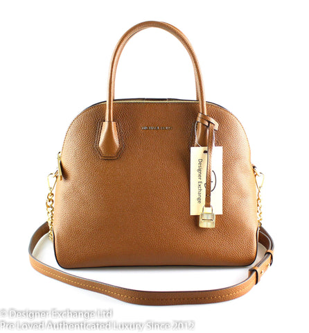 Michael Kors Tan Mercer Dome Stachel GH