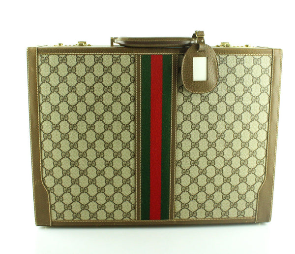 Gucci Web Vintage Atache Case Early 90's