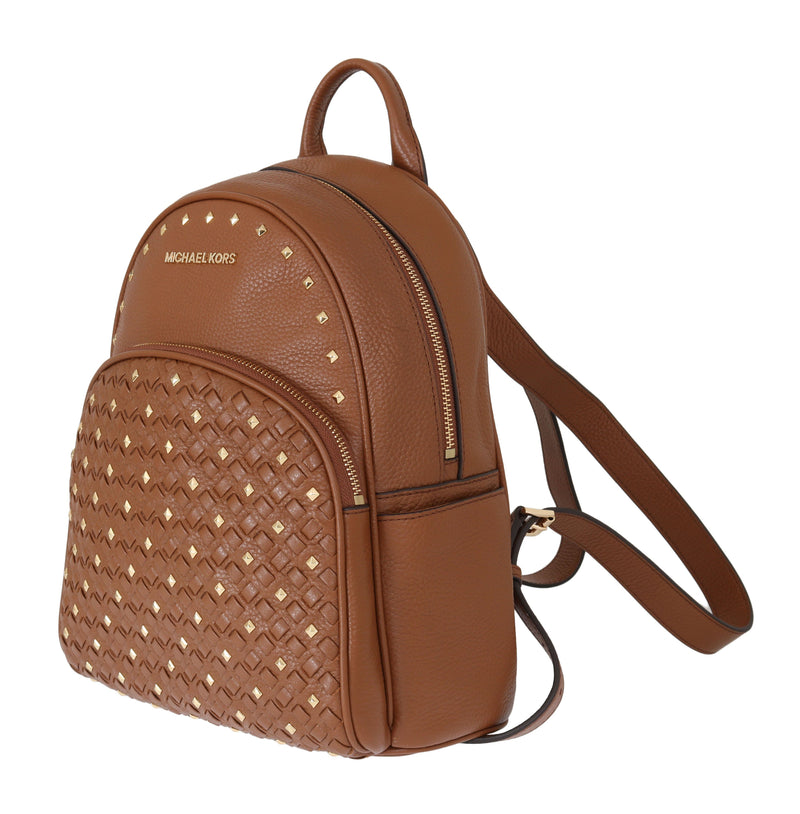 Studded Street Chic Printed Backpack