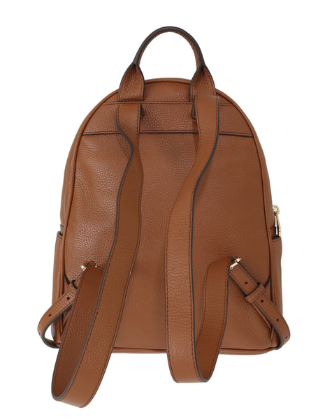 Michael Kors Brown Abbey Studded Backpack