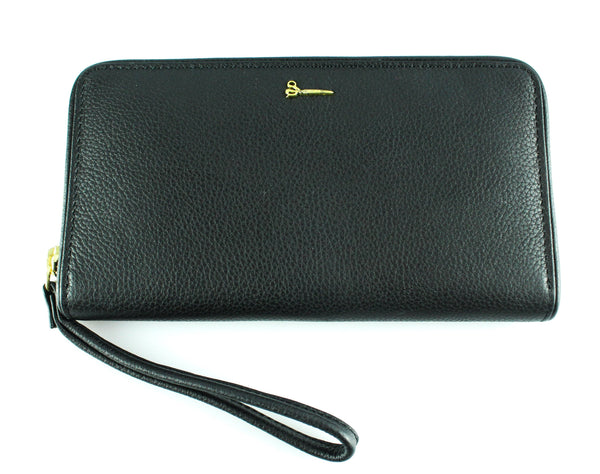 Barney And Taylor Large Black Multifunction Wallet