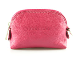 Longchamp Pink Small Leather Coin Purse SH