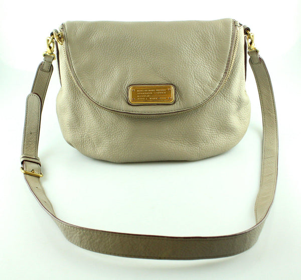 Marc By Marc Jacobs Taupe Leather Natasha Cross Body