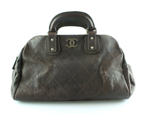 Chanel Caviar Brown Outdoor Ligne Doctors Bag 2005/06