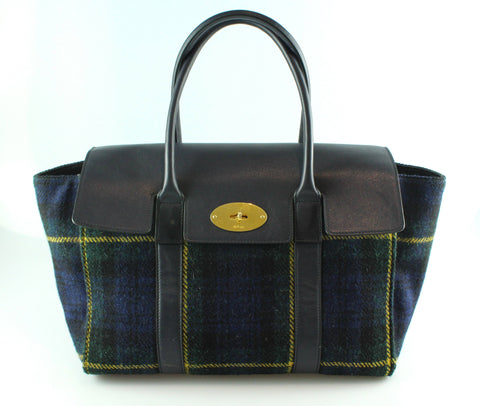 Mulberry New Bayswater Tartan Leather And Wool GH