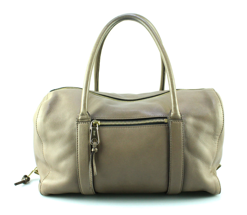 Chloe Madeline Lamb Leather Satchel