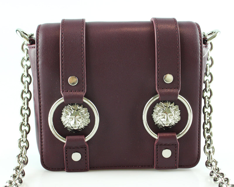 Versace Versus Mini Purple Chain Bag