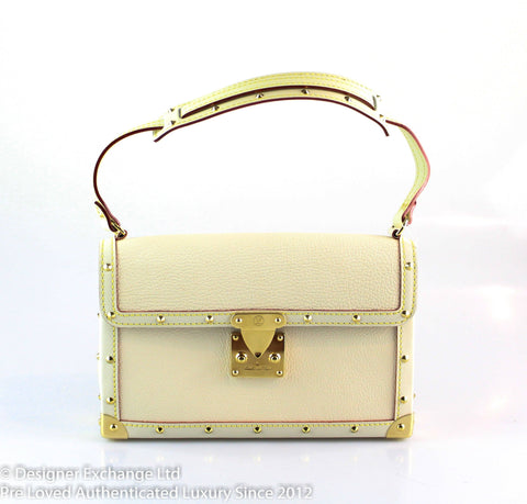 Louis Vuitton L'Aimable Suhali Cream Small Shoulder Bag AS1006
