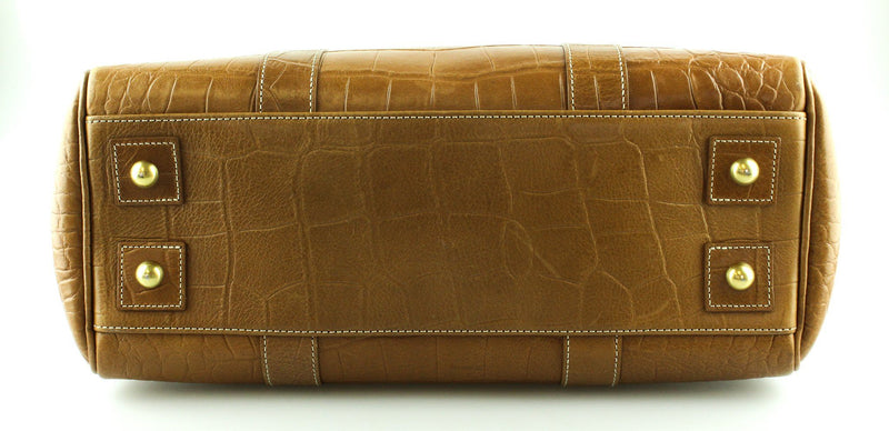 Mulberry Oak Croc Embossed Bayswater GH