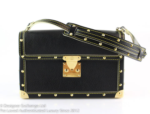 Louis Vuitton L'Aimable Suhali Black Small Shoulder Bag AS1006