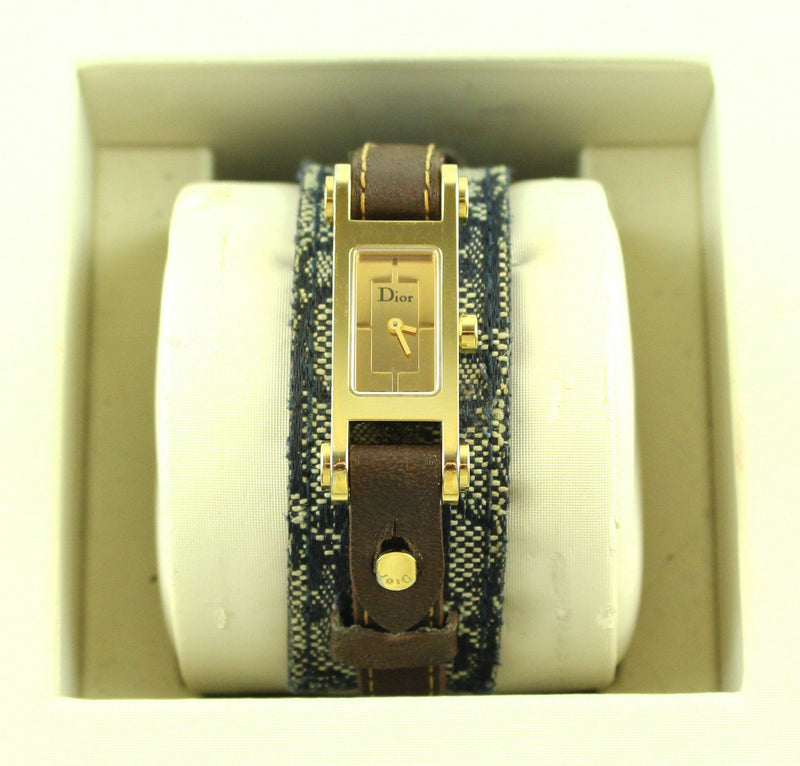 Christian Dior 66 Watch And Replacement Bracelet (2)