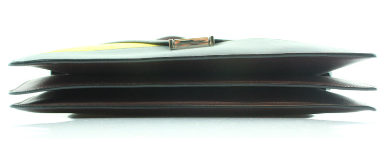 Celine Tri Colour Suede And Smooth Leather Diamond Clutch