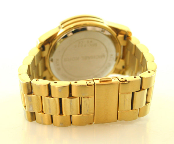Michael Kors Goldtone Chronograph Watch MK5055 Blair