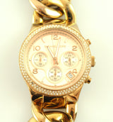 Michael Kors MK3247 Rose Gold Runway Chain Strap Watch