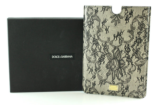 Dolce And Gabanna Floral Lace Look Ipad Mini Cover