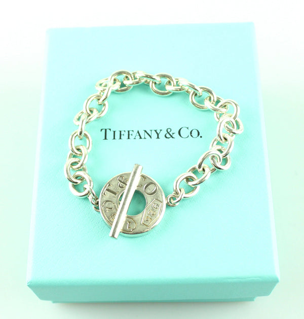 Tiffany & Co. 925 1837 Toggle Bracelet