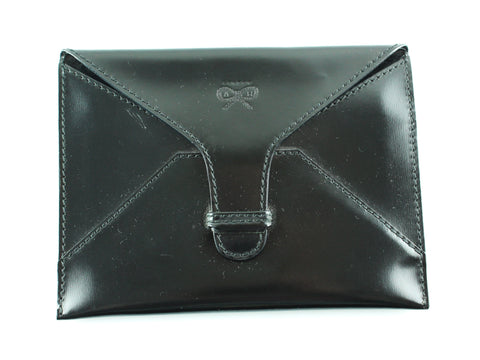 Anya Hindmarch Black Leather Passport Cover