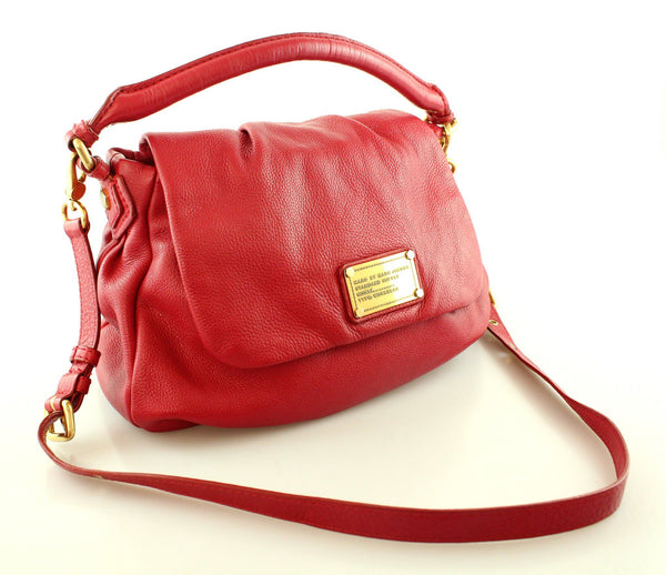 Marc By Marc Jacobs Classic Q Ukita Cherry Red