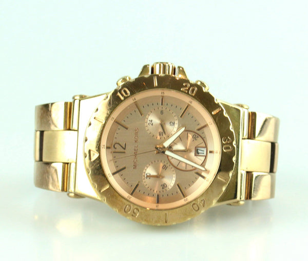 Michael Kors Dylan Rose Gold Chronograph MK5314