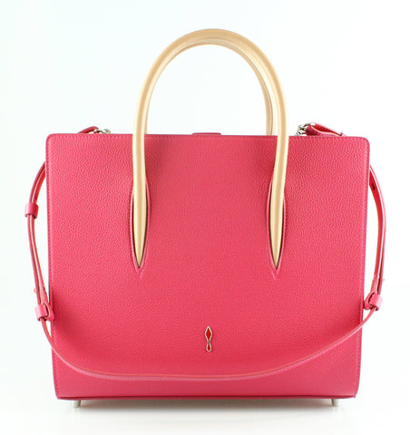 Christian Louboutin Medium Rougissime Calf Paloma Tote
