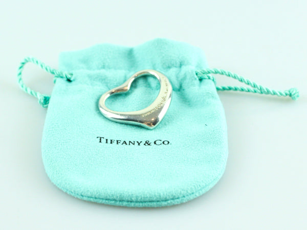 Tiffany & Co Perreti Open Heart Pendant