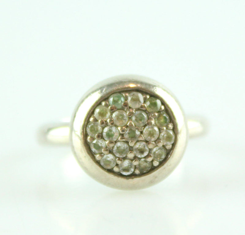 Links Of London Sterling Silver Pave Essentials Ring
