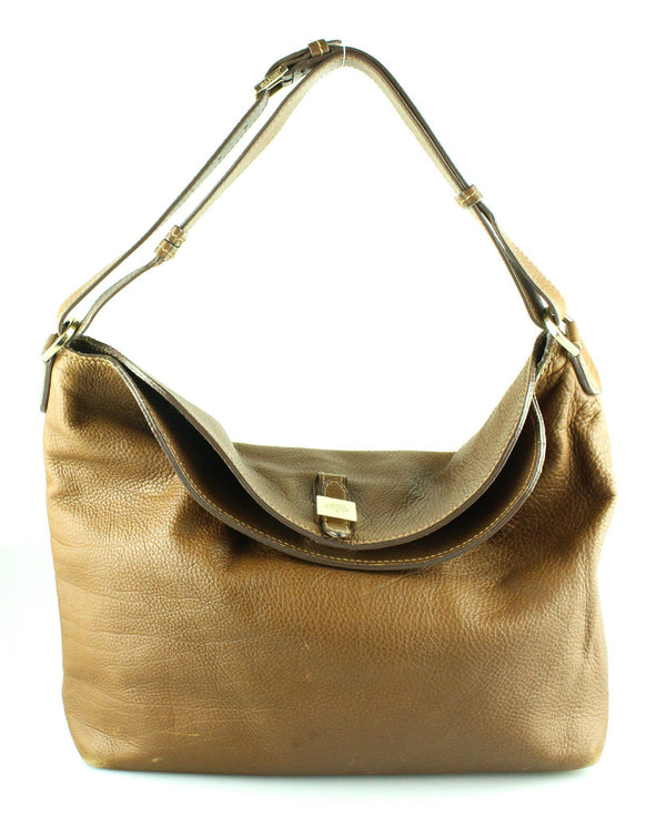 Mulberry Oak Tessie Hobo Gold tone (2)