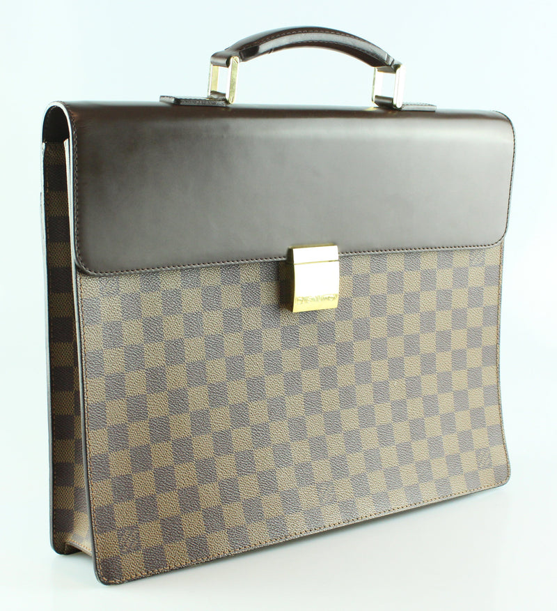 Louis Vuitton Damier Ebene Altona Brief Case