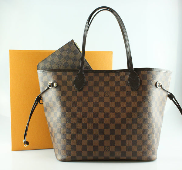 1ad5c2fa5ee8 Louis Vuitton Damier Ebene Neverfull MM With Pochette ar3187 RRP €990 –  Designer Exchange Ltd