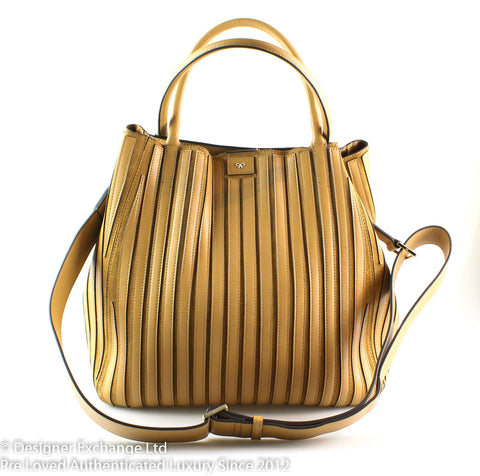 Anya Hindmarch Tan Large Belvedere (1)