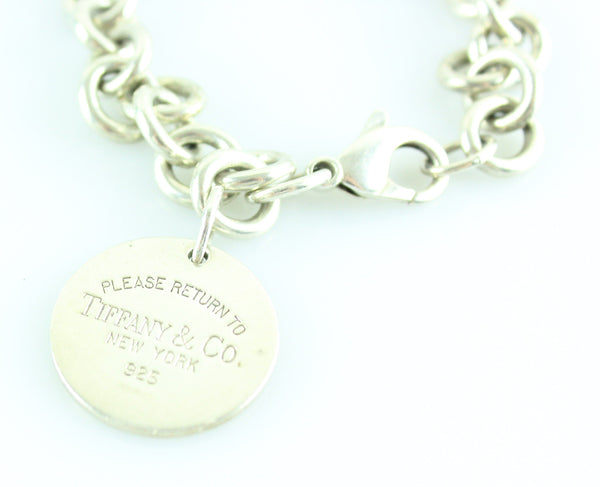 Tiffany & Co RTT Circle Bracelet Sterling Silver