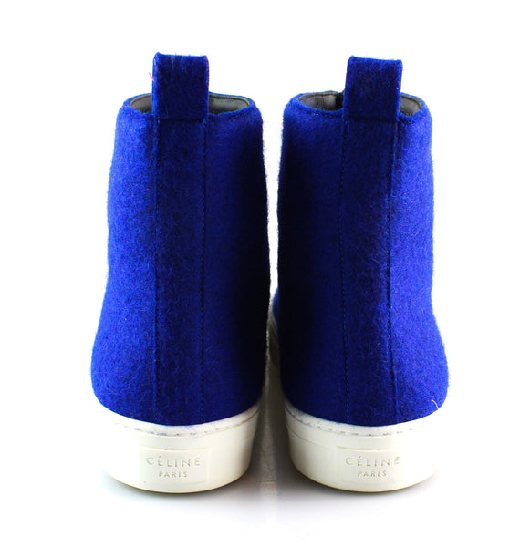 Celine Zipped Royal Blue Ankle Boot 40/7 RRP €620