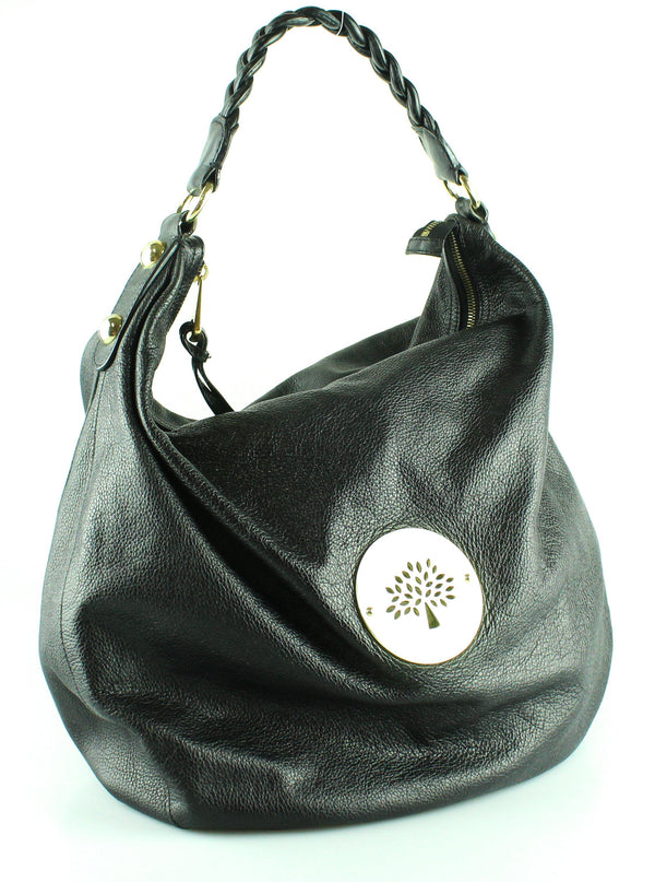 Mulberry Black Large Daria Hobo GH Soft Spongy