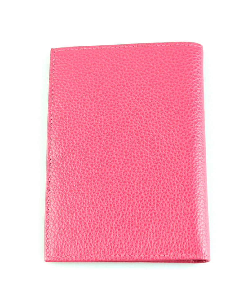 Longchamp Pink Leather Passport Case 2