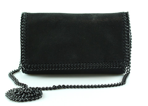 Stella McCartney Falabella Flap Crossbody Black BHW
